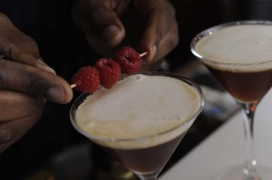 Ian Burrell's Rum & Chocolate cocktail