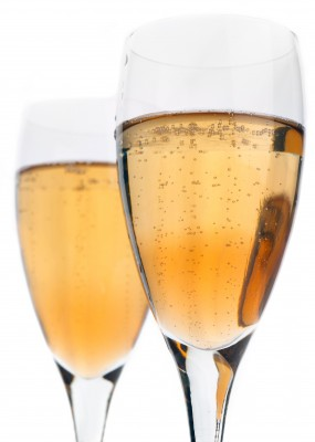Perfect for Christmas, the Champagne Cocktail