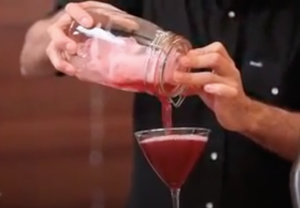 How to shake and strain a cocktail with Dre Masso