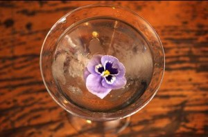 The Chelsea Flower Martini at Bart's