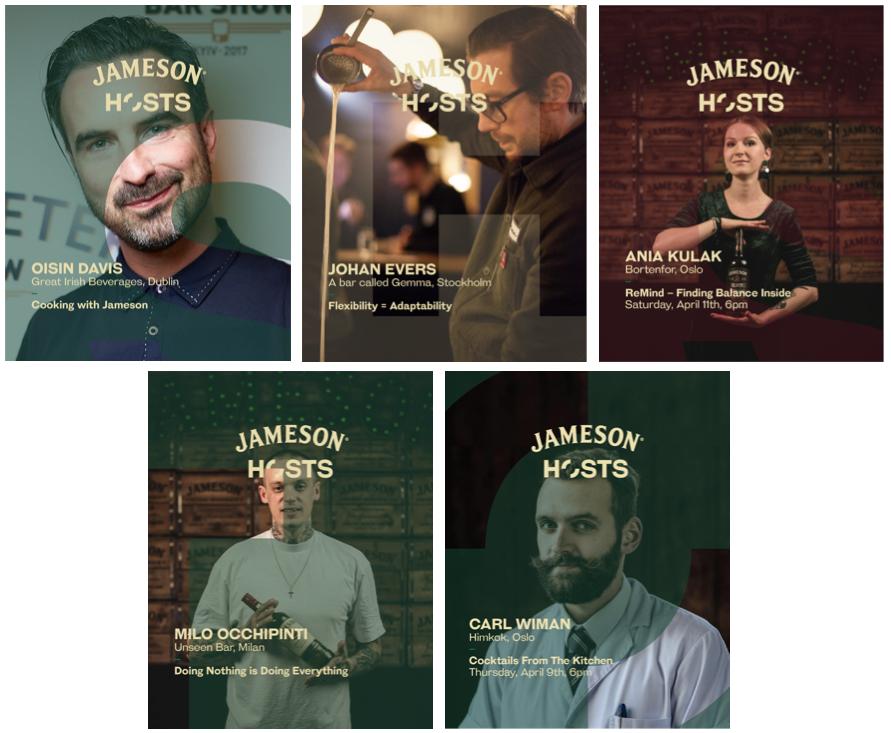 Jameson Hosts Online