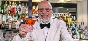 Peter Dorelli former Head Bartender The American Bar The Savoy London