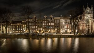 Pulitzer Amsterdam by night