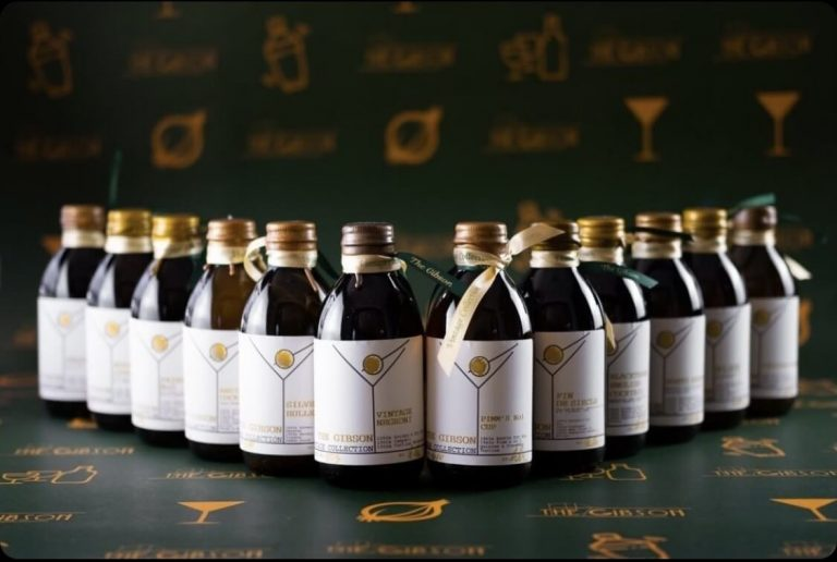 The Gibson Vintage Cocktail Bottled Collection